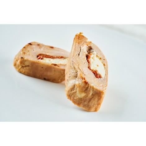 Vepřová panenka plněná sušenými rajčaty a kozím sýrem (100g)
