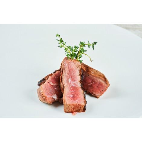 Hovězí steak z vysokého řoštěnce na grilu (100g)